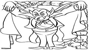 Small Picture Count Dracula Coloring Page Coloring Pages Dracula Dracula