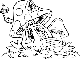 Small Picture Mushroom House coloring pages Color with Kids Pinterest