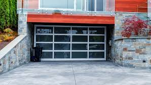 the pros cons of glass garage doors