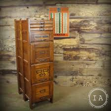 Antique Storage Cabinets Vintage Weis 7 Drawer Wooden File Cabinet Antique Storage