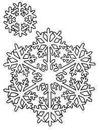 This snowflake coloring pages can be a starting point in a discussion teaching kids about the science of ice crystals. Free Printable Snowflake Coloring Pages For Kids
