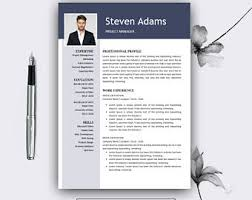 Professional Cv Template For Word Pages Resume Teacher Cv