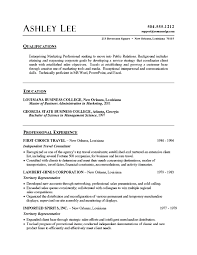... Example Good Looking A Summary For Resume Com