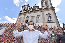 Bruno Reis iniciou campanha com missa na Basílica do Senhor do Bonfim -  Anota Bahia