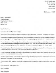 office administrator cover letter example icoverorguk office administration cover letter