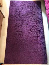 ikea Ådum purple rug