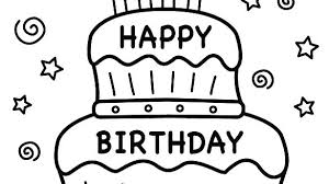 Free Printable Birthday Coloring Pages Zen Coloring Book Stacybahn