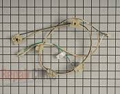 whirlpool range stove oven wire receptacle wire connector parts wire harness part 1875851 mfg part w10300393