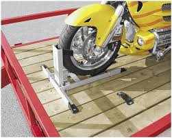 condor motorcycle trailer wheel chock attachment kit