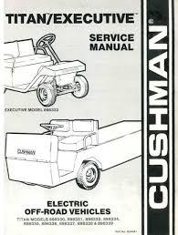 product index vintage golf cart parts inc page 5 1967 Minute Miser Cushman Wiring Diagram pu33 220 service manual, electric, '83 '94 titan & Cushman Minute Miser Repair Manual