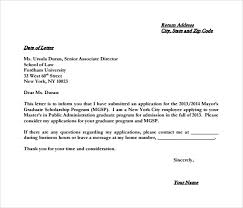 Letter To Intent Sample 10 Sample College Letter Of Intent Pdf Doc