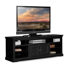 Tv Stand Black Jenson 60 Tv Stand Black Value City Furniture