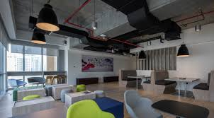 Interior design office layout Small Business Building Desk Layout Digital Offices Interior Design Interiors Middle East Modern Workplace Roomsketcher Office Design In The Middle East Is Still old School Says Works