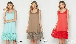 Honeyme Size Chart New Red Mint Honeyme Lace Slip Dress Extenders Size S M L