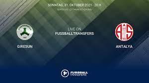 Giresun vs Antalya 11. Spieltag Süper Lig 2021/2022 31/10 im Liveticker
