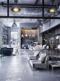 loft rotterdam industrial rock pendant lighting. Concrete Floors And Exposed Metal Beams Are Key Industrial Themes Loft Rotterdam Rock Pendant Lighting