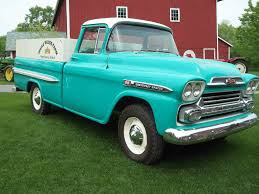the Chevrolet Apache pickup of 1959...the good ole' truck that dad ...