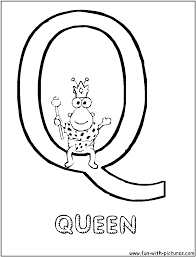 Small Picture Letter Q Coloring Page Excellent Coloring Pages Starting With