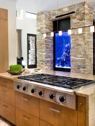 furniture fish tanks. Innovative Modern And Colorful Fish Tanks : Exciting Kitchen In The Furniture