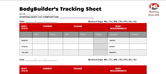 Bodybuilding Body Measurement Chart Bodybuilding Fitness Key Body Measurements That Are Vital