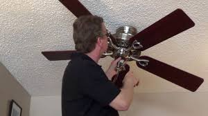 how to remove a ceiling fan direct connect