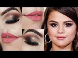 06 21 makeup tutorial selena gomez grammy olho esfumado sem sombra preta selena gomez e and get it