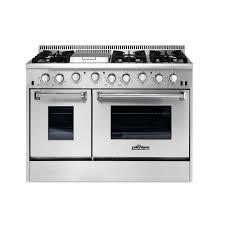 Gas Kitchen Ranges Thor Kitchen 48 In 67 Cu Ft Professional Gas Range In