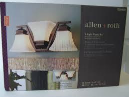 5 Light Vanity Bar White Allen Roth 3 Light Vanity Bar Oil Rubbed Bronze Finish White Opal Glass Shades