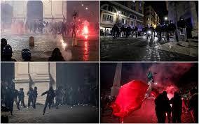 Misure anti-Covid, a Roma scontri tra i manifestanti e la polizia. I VIDEO