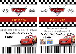 Homemade Cars Pit Pass Invitation Template And Tutorial Oh The