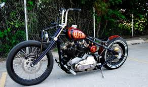 harley sportster bobber chopper free hd wallpaper