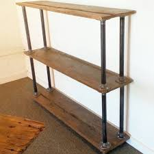 steel pipe furniture. Furniture: Metal And Wood Bookcase Amazing New Shopping Special Coaster 801542 Barritt Antique Intended For Steel Pipe Furniture