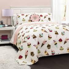Cupcake Ice Cream Bedding Quilt Set - Walmart.com & Cupcake Ice Cream Bedding Quilt Set Adamdwight.com