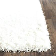 fuzzy white area rug area rugs