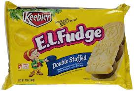 keebler cookies el fudge. Fine Fudge Keebler El Fudge Sandwich Double Stuffed 12 Oz Inside Cookies El