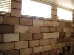 painted concrete block wall interior painted concrete