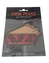 office air freshener. Twin Peaks Cherry Pie Car Truck Office Air Freshener - Scent T