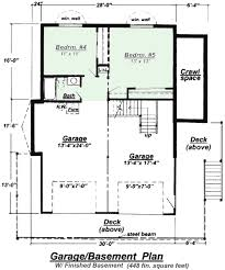 Small Picture Ranch With Finished Basement House Plans Home Design And Lookout