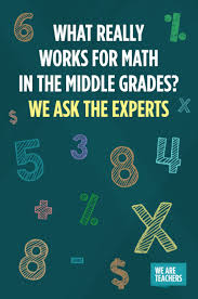 best middle school math activities and ideas images on experts ideas for teaching tough math concepts in middle grades