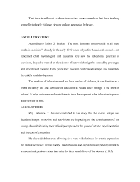 tv violence essay conclusion violence on television essay sample essay on violence on