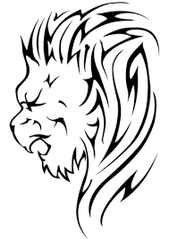 Small Picture Lion Head Tattoo coloring page Free Printable Coloring Pages