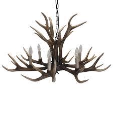antler ceiling lamp deer horn ceiling fan crystal chandelier white faux antler chandelier whitetail deer antler chandelier
