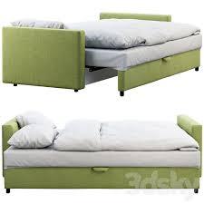 3d models bed ikea friheten sofa bed
