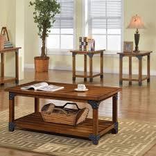 Coffee Table Set Of 3 Furniture Of America Cm4102 3pk Bozeman 3 Piece Coffee Table Set