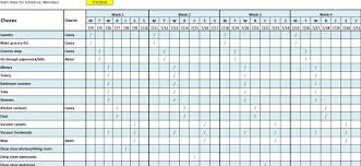 6 Free Cleaning Schedule Templates In Ms Word And Ms Excel