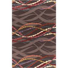surya mamba chocolate 2 ft x 3 ft indoor area rug