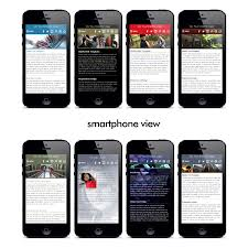 Mobile Website Template New MobiHybrid Responsive HTML Website Templates