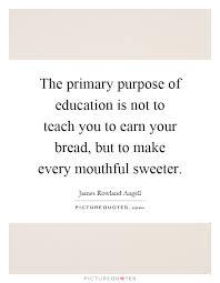Purpose Of Education Essays