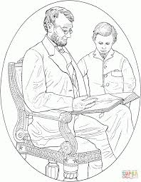 Small Picture Coloring Pages President Abraham Lincoln Coloring Pages Hellokids
