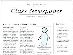 Newspaper Layout On Word Newspaper Format Template For Word Lapos Co